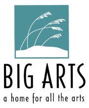 BIG Arts logo