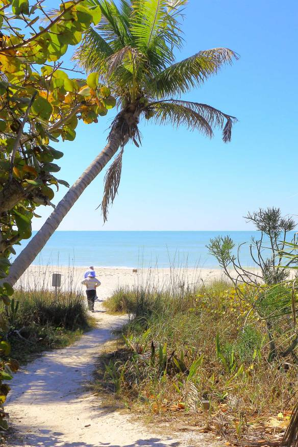 w gulf dr sanibel beach path
