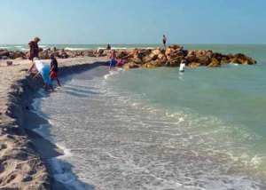 Captiva beach erosion