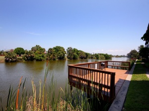 Overlooking Sanibel River at Spanish Cay