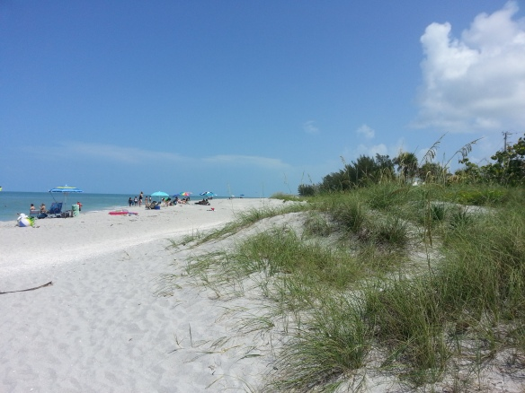 June 20, 2013, gulf beach on the Captiva side of Blind Pass, photo by Lisa Murty