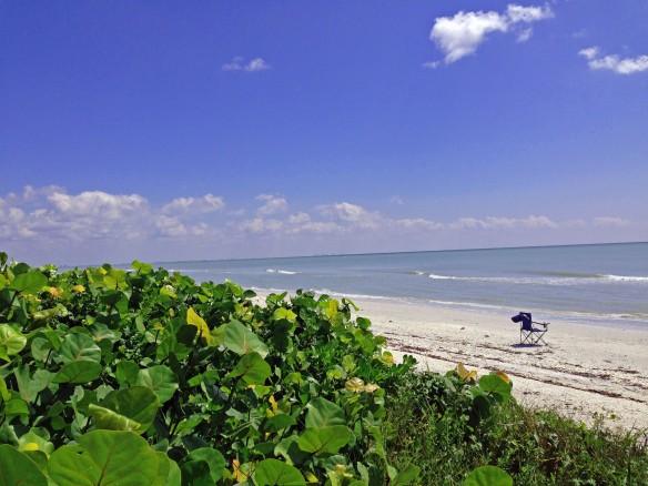 Gulf beach in front of Island Beach Club 09/27/13