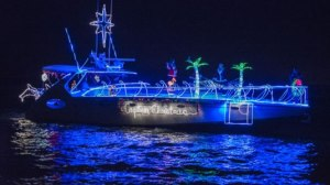 Captiva Christmas Boat
