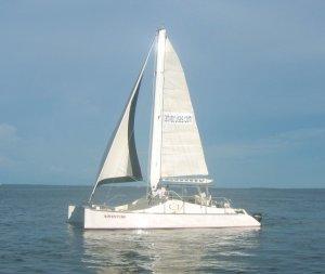 Adventure catamaran