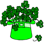 Hat_Shamrocks