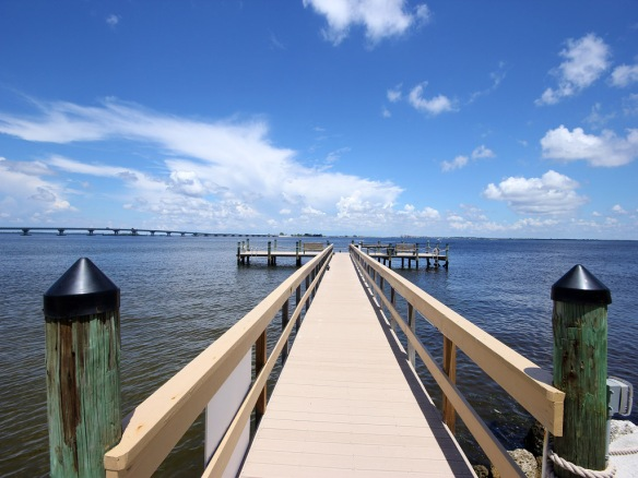 Mariner Pointe fishing pier, by JMA Photography