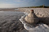 Sanibel snowman at Bowmans