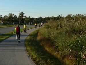 Bike Trail on Middle Gulf Dr