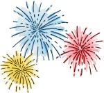 fireworks clip art
