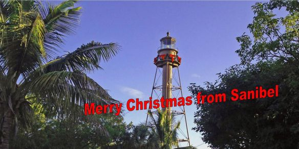 Merry Christmas Lighthouse