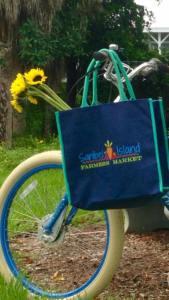Sanibel farmers market bike