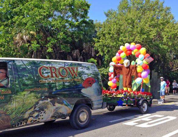 crow 2015 parade