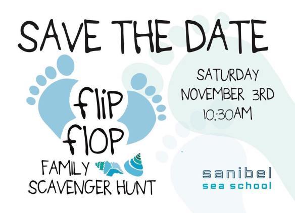 flip flop scavenger hunt 2018