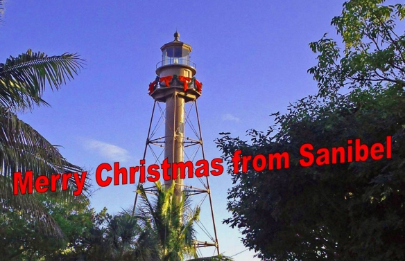 Christmas Lighthouse cropped