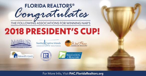 2018 NAR President's Cup Winner - 6 in FL