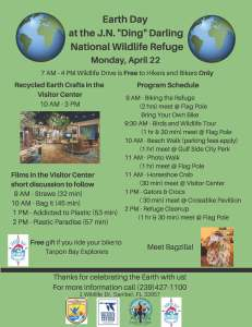 Earth Day flier 2019
