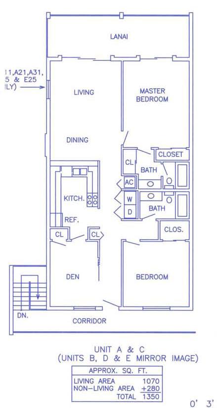 White Sands Unit C Floorplan